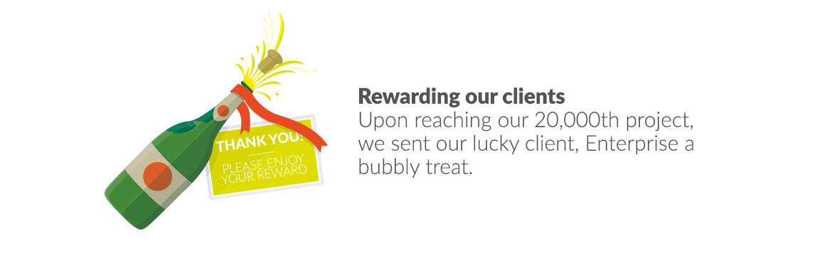 Rewarding our clients